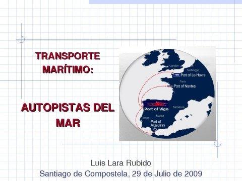 Luis Lara Rubido, director da Autoridade Portuaria de Vigo - Xornadas sobre Políticas Públicas en tempos de crise: austeridade, eficacia e fomento da economía de Galicia